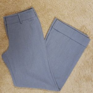 LOFT Pants - Loft 4P Ann Gray Wide Leg Dress Pants